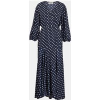Essentiel Antwerp Vundamental Long Wrap Dress - Combo 1 Vapor Blue 36/8