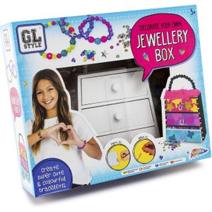 Gl Style Decorate Your Own Jewellery Box