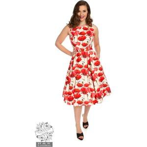Hearts & Roses Sweet Poppy Swing Dress 10