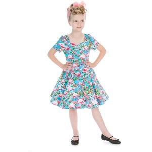 H&r Children's Flamingo Retro Dress 5-6 Years