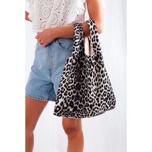 Kaia Tote Bag - Cream Leopard Cream - One Size, Cream