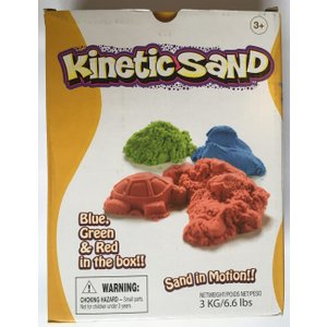 Kinetic Sand Red, Green, Blue 3kg By Relevant Play