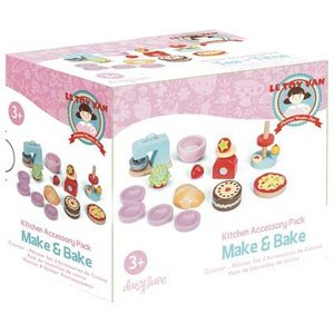 Le Toy Van Make And Bake Kitchen Accessory For Daisy Lane Dolls House
