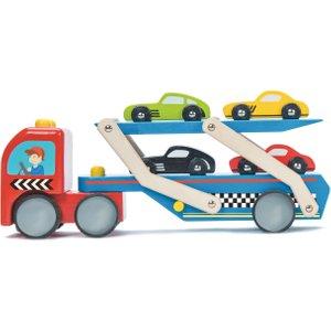 Le Toy Van Race Car Transporter
