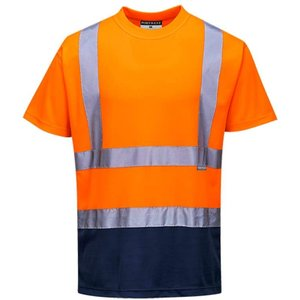 Portwest Hi Vis 2-tone Tee Shirt Ris 3279 - S378 Yellow/black - Xl, Yellow/Black