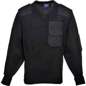 Portwest Security Nato Sweater/jumper  - B310 Black - Xl, Black