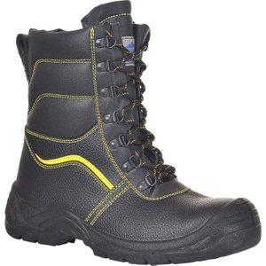Portwest Steelite Fur Lined Protector Safety Boot Steel Toe And Midsole  - Fw05 Black - 46, Black