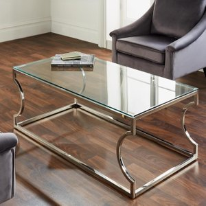 Rome Coffee Table - Silver
