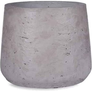 Small Tapered Plant Pot, Stone