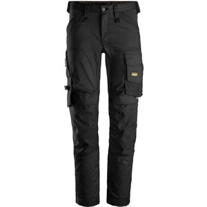 Snickers Allround Slim Fit Work Stretch Trouser Non Holster - 6.. Black - Long 156 (up To , Black
