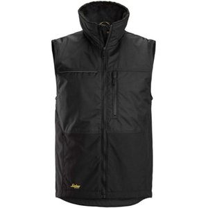 Snickers Allround Work Winter Vest-4548 Steel Grey / Black - Xs, Steel Grey / Black