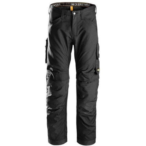 Snickers Allroundwork Kneepad Work Trousers-6301 Steel Grey - Regular 44 (up To W29 X L31)