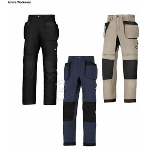 Snickers Litework 37.5 Hot Weather Work Trousers With Knee.. Navy/black - Long 146 (up To , Navy/Black