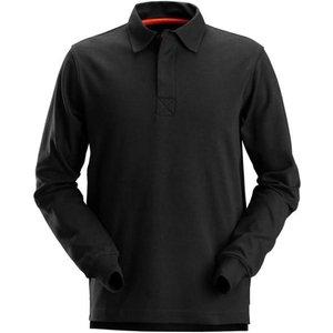 Snickers Rugby Shirt-2612 Grey Melange - L, Grey Melange