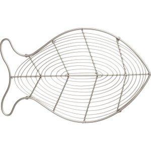 T&g - Ocean Fish Trivet - Satin Grey