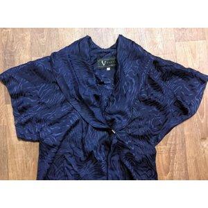 Vintage 1980s Designer Vintage Pure Silk Blouse Uk Size 10/12