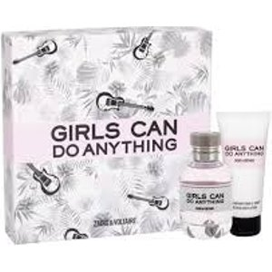 Zadig & Voltaire Girls Can Do Anything Gift Set 50ml Edp + 75ml Body Lotion