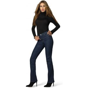 Zara Midnight Blue Wizard Boot Cut Jeans Waist: Uk 8/26' Leg: L33'