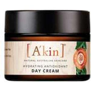 A'kin Moisturisers And Serums Hydrating Antioxidant Day Cream 50ml Skincare