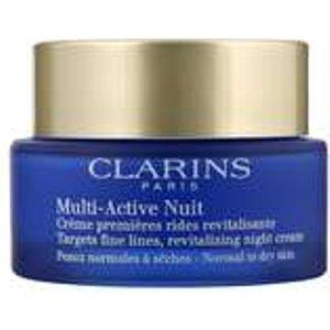 Clarins Multi-active Nuit Revitalizing Night Cream Normal/dry Skin 50ml / 1.7 Oz. Skincare