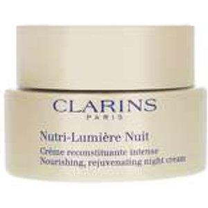 Clarins Nutri-lumiere Nourishing, Rejuvenating Night Cream 50ml Skincare