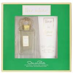 Oscar De La Renta Live In Love Eau De Parfum Spray 100ml Gift Set Other Occasions