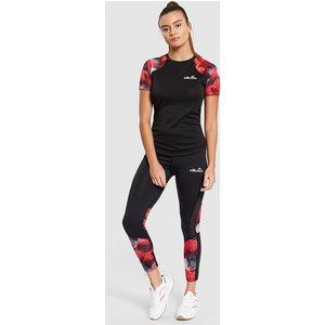 Ellesse Picanto T-shirt Black 611277 8 Womens Clothing, BLACK