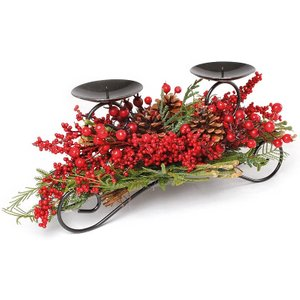 Coopers Of Stortford Berry Candle Holder Decorations