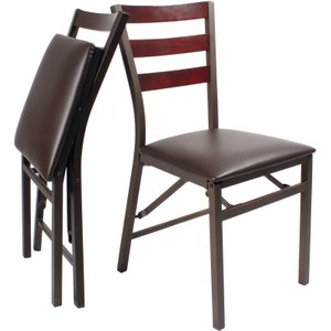 Coopers Of Stortford Pk 2 Folding Dining Chairs General Household