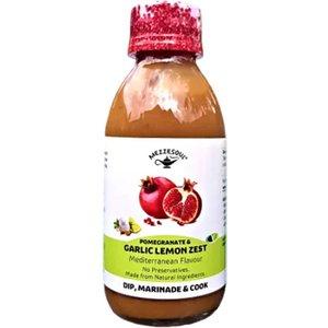 Mezzesoul Pomegranate Garlic And Lemon Zest Marinade