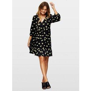 Miss Selfridge Womens Black Floral Print Smock Dress, Black Ms18e23bblk Womens Dresses & Skirts, BLACK