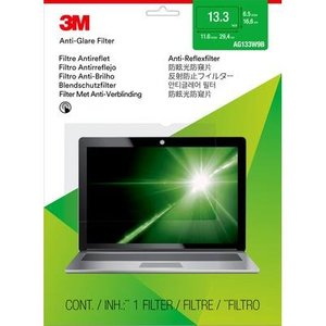 """3m Anti-glare Filter For 13.3"""" Widescreen Laptop Ag133w9b Computer Components"""