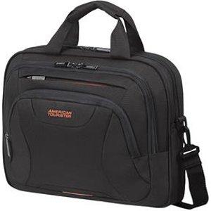 "American Tourister At Work Notebook Case 35.6 Cm (14"") Briefcase Black Orange 88531 1070 Bags"