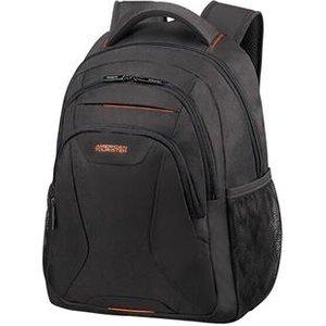 "American Tourister At Work Notebook Case 35.6 Cm (14"") Backpack Black Orange 88528 1070 Bags"