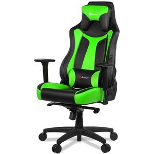 Arozzi Vernazza Pc Gaming Chair Padded Seat Blackgreen Vernazza Uk Gn Chairs