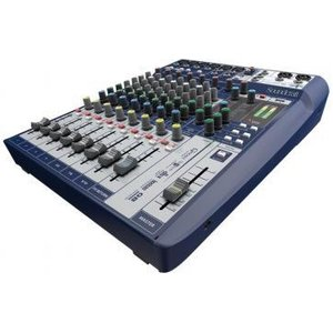 Compact Analogue Mixer 10 Channels 2 Usb Inputs