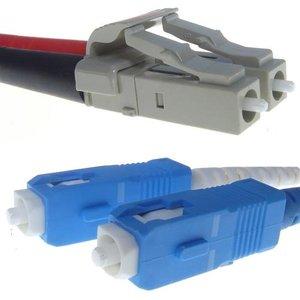 Connekt Gear Lc/sc 9/125 10m Fibre Optic Cable Yellow 32 0100lcsc/y Cables, Parts & Power Supplies