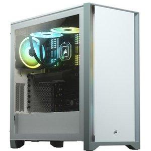 Corsair 4000d Midi Tower White Cc 9011199 Ww Computer Cases