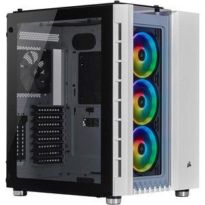 Corsair Crystal 680x Rgb Midi-tower White Cc 9011169 Ww Computer Cases