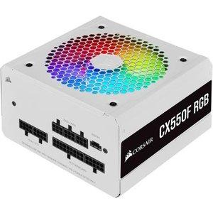 Corsair Cx550f Rgb Power Supply Unit 550 W 24-pin Atx Atx White Cp 9020225 Uk Power Supplies