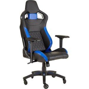 Corsair T1 Race Pc Gaming Chair Black Blue Cf 9010014 Ww Chairs