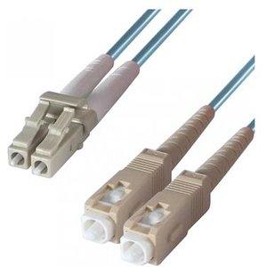 Dp Building Systems 3-dx-lc-sc-3-aa Fibre Optic Cable 3 M Om3 Blueaqua Colour Cables, Parts & Power Supplies