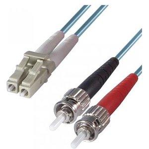 Dp Building Systems 3-dx-lc-st-3-aa Fibre Optic Cable 3 M Om3 Blueaqua Colour Cables, Parts & Power Supplies
