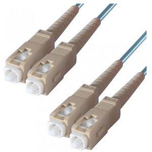Dp Building Systems 3-dx-sc-sc-1-aa Fibre Optic Cable 1 M Om3 Blueaqua Colour Cables, Parts & Power Supplies