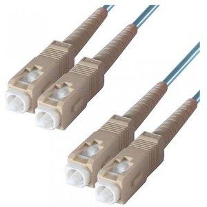 Dp Building Systems 3-dx-sc-sc-5-aa Fibre Optic Cable 5 M Om3 Blueaqua Colour Cables, Parts & Power Supplies