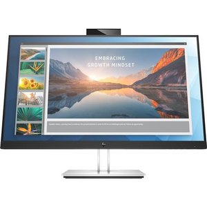 "Hp E24d G4 60.5 Cm (23.8"") 1920 X 1080 Pixels Full Hd Led Black Silver 6pa50at#abu Computer Components"