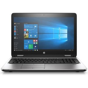 "Hp Probook 650 G3 Notebook Black Silver 39.6 Cm (15.6"") 1366 X 768 Pixels 7th Gen Int Z2w53et#abu Computer Components"