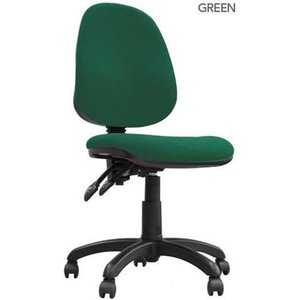 Java 200 High Back Operator Chair Green Bcf/p505/gn Chairs