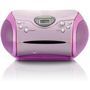 Lenco Scd-24 Digital Pink Scd 24 Pink Radios