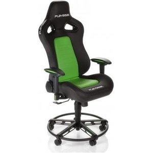 Playseat L33t Universal Gaming Chair Padded Seat Black Green Glt.00146 Chairs